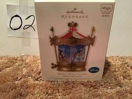 Hallmark 2010 Disney Mickey Mouse & Friends Mickey's Merry Carousel Orna... - $29.99