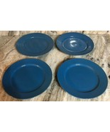 """Royal Norfolk 10 1/2"""" Dinner Plates Set Of 4 Light  Blue(New)SHIPS N 24 ... - $39.08"""