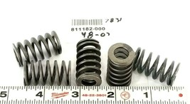 LOT OF 5 NEW GENERIC 811182-000 COMPRESSION SPRINGS 1-1/4'' IN. OAL 3/4'' IN. OD