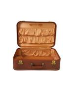"Vintage Starlite Hardside Suitcase 1950s Luggage Burlesque Case Valise 21"" - $173.25"