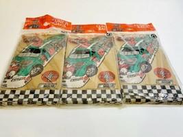 New Vintage 2001 Coca-cola Racing NASCAR #18 Brown Paper Lunch Bags 3pks... - $34.99