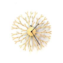 Unique 'interactive' wooden wall clock by ardeola - Dandelion - $109.00