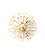 Unique 'interactive' wooden wall clock by ardeola - Dandelion - $109.00