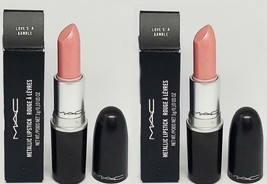 2 x MAC MAC METALLIC LIPSTICK ~ LOVE'S A GAMBLE ~ NIB - $49.99