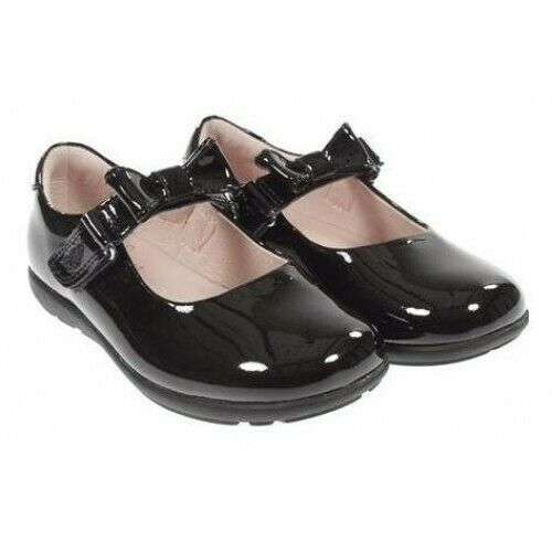 LELLI KELLY LK8300 Black Patent Leather School Shoes F Fitting 33 EUR / UK 1