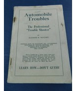 Vintage Automobile Troubles by Raymond Maulsby C-1924 - $24.99