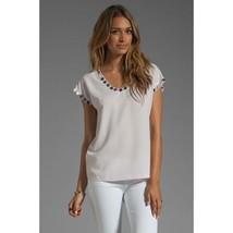 Diane von Furstenberg Women's Top Acedia Mirrors Blouse Size Small NWT - $97.12