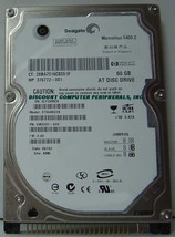"New Seagate ST960822A 60GB IDE 44PIN 2.5"" 9.5MM Hard Drive Free USA Ship"