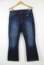 Joes Jeans Visionaire Dark Wash Faded Bootcut Jeans Size 31x27 - $16.00