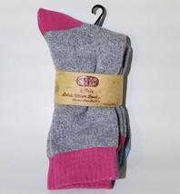 Clear Creek 2-Pack Women's Extra Warm Boot Socks (Shoe Size 5-9)