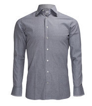Zilli Men's Grey Patterned Cotton Dress Shirt Regular fit, size 40(15.75) - €424,34 EUR