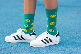 Smile Green Socks - $8.40