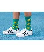 Smile Green Socks - $8.40
