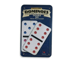 Vintage 1998 Cardinal Industries Collectors Dominoes Double Six - $19.79