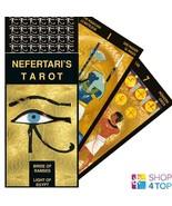 NEFERTARI'S TAROT DECK CARDS ESOTERIC FORTUNE TELLING LO SCARABEO NEW - $36.82