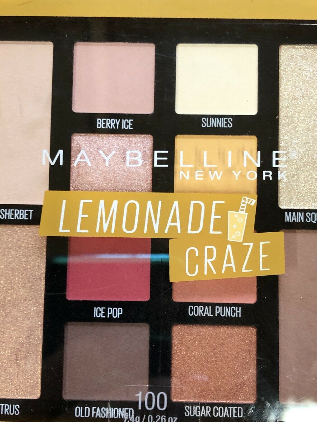 Primary image for Maybelline New York Lemonade Craze Eyeshadow Palette 100 SEALED 12 Colors