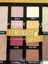 Maybelline New York Lemonade Craze Eyeshadow Palette 100 SEALED 12 Colors - $5.45