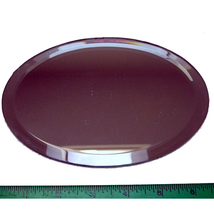 5 inch by 7 inch Beveled Oval Mirror image 2