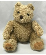 "Hard Rock Hotel Embroidered Bear Plush Brown 2015  ""9 - $9.85"
