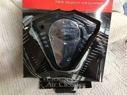 NOS Kuryakyn Twin Velocity Air Cleaner with K&N Filter 93-99 Evo Big Twin Harley
