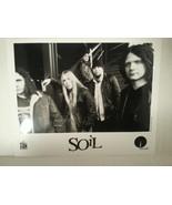 "SOIL -  PROMO PICTURE - RARE - 8"" X 10""-FREE SHIPPING - $18.70"