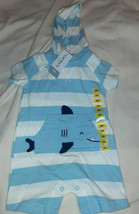 Carter's Baby Body Suit With Hood & Whale Size 6 Months NWT - $12.82