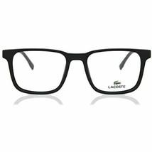 New LACOSTE L 2819 001 Matte Black Eyeglasses 52mm with LACOSTE Case - $98.95