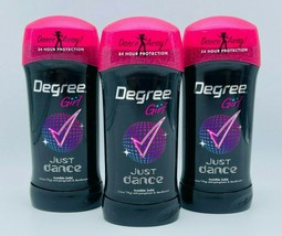3 x Degree GIRL JUST DANCE Invisible Solid Deodorant Teen 2.6 oz Exp 06/... - $29.99