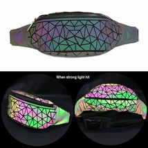 Fanny Pack Womens Men Holographic Fashion Festival Cute Waist Packs Travel - $20.09+