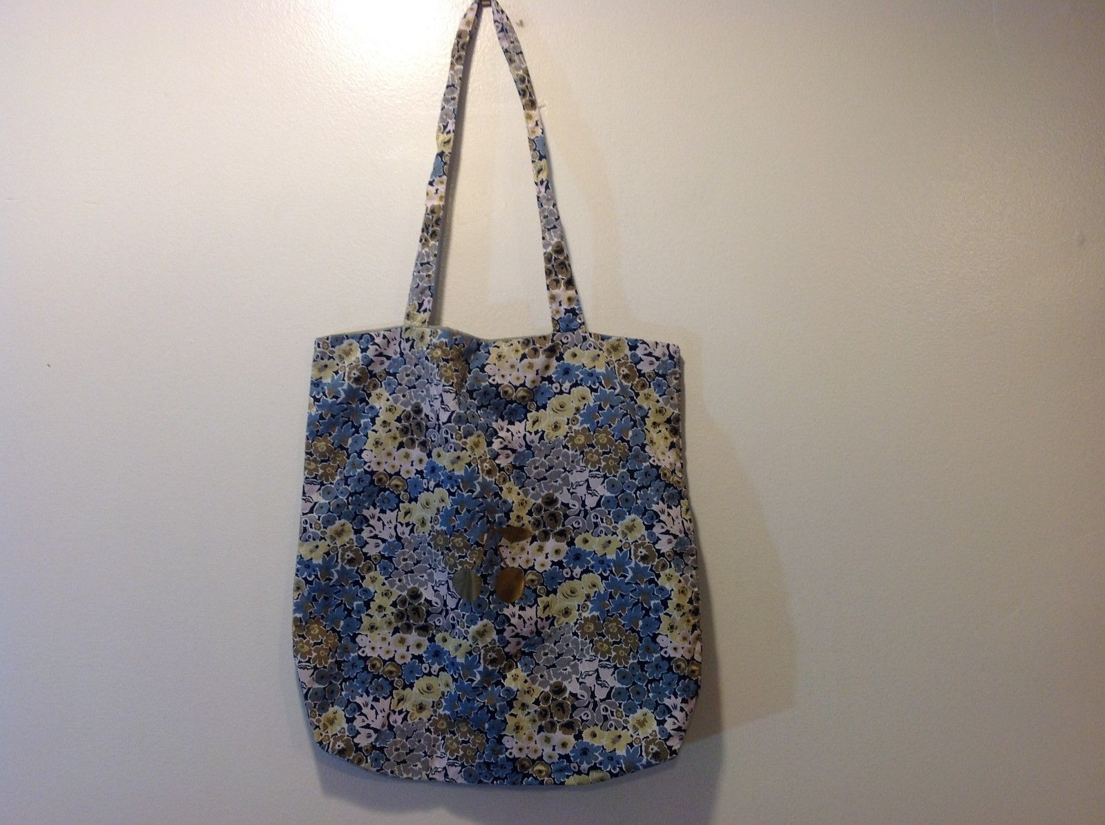 Bonypoint Multicolor Pastel Outing Bag w Floral Design