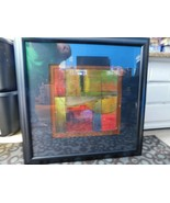 Baldwin Art Group Abstract Contemporary Framed Matted Style BA5179 32X3... - $173.24