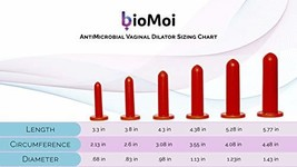 BioMoi's Silicone Vaginal Trainers with BioCote Protection Full Set - $247.73