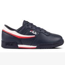 Fila Original Fitness Boy 3VF80105-460 navy Leather Junior Shoes - €45,02 EUR