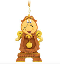 Parks Cogsworth Clock Beauty And The Beast Figurine Ornament Christmas - $54.70