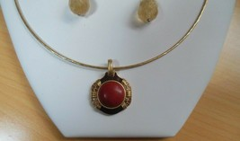 Vintage Lia Sophia Necklace & Earrings Set - $35.00
