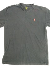 Polo Ralph Lauren V-Neck Black Red T-Shirt Size S - $12.86