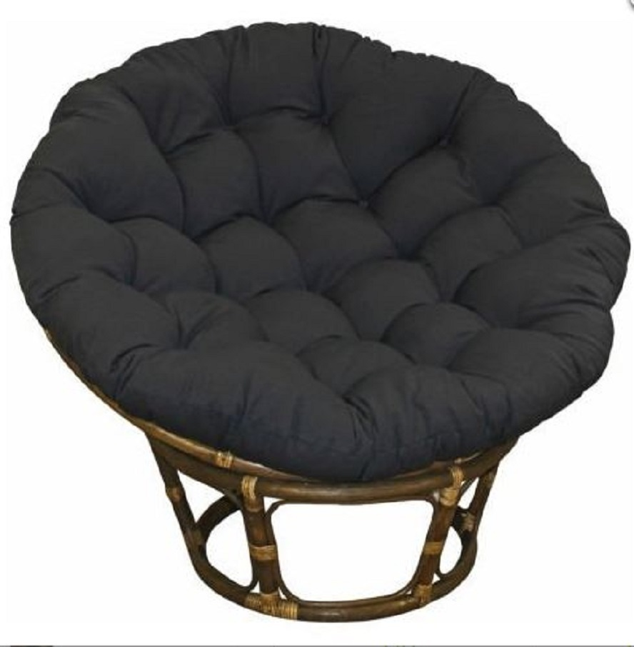 Papasan cushion frame 44 twill azul
