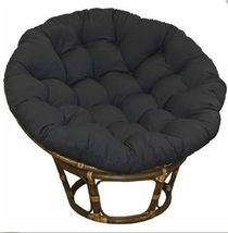 "Papasan Cushion 44"" Indoor / Outdoor Use Patio Sunroom Great Room Game R... - $109.88"