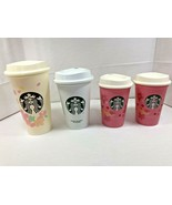 Starbucks JAPAN Limited Cup Tumbler 4 set SAKURA coffee 355ml 2020 - $36.12