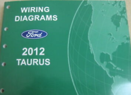 2012 FORD TAURUS Electrical Wiring Diagram Troubleshooting Shop Manual E... - $1.73