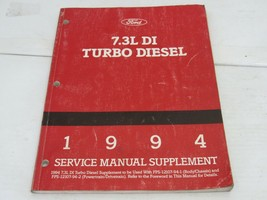 1994 Ford 7.2 DI Turbo  Diesel Service Shop Repair Manual - $19.55