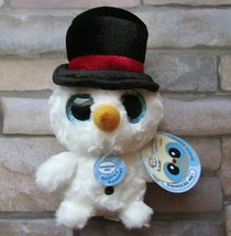 Aurora Snowee Snowman Plush  Yoohoo 09943 Item is new but music does not... - $6.99