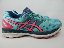 Asics Gt 2000 V 4 Tailles 8 M (B)39.5 Femmes Chaussures Course Turquoise Rose