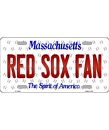 Massachusetts Maine State Background Novelty Metal License Plate Tag (Re... - $12.95