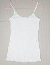 Ivory Rayon Camisole, Spaghetti Strap Cami, Sleeveless, Off White