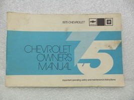 1975 Chevrolet Chevy Owners Manual 16035 - $16.82