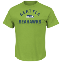 Majestic Men's NFL For All Time Short-Sleeved Tee Seahawks M #NINGC-279 - $17.99