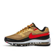 Nike Air Max 97 BW Metallic Gold Red Trainers image 9