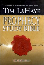 Prophecy Study Bible: New King James Version Bonded Burgundy LaHaye, Tim F. - $54.45