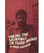 Taking the Soundings on Third Avenue by David Kherdian (Hardcover, 1981)... - $10.89